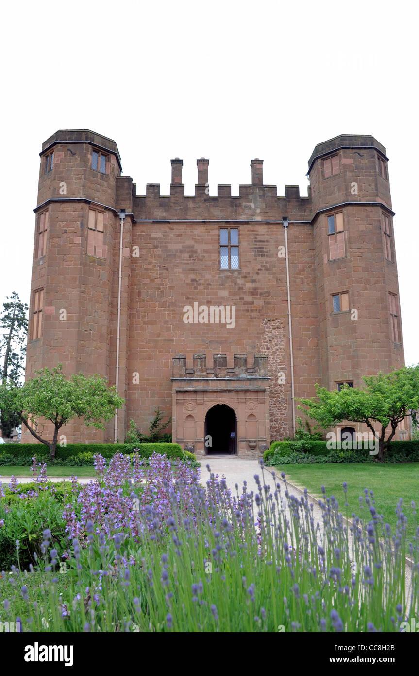 The Gate House Kenilworth Castle, Warwickshire - Stock Image