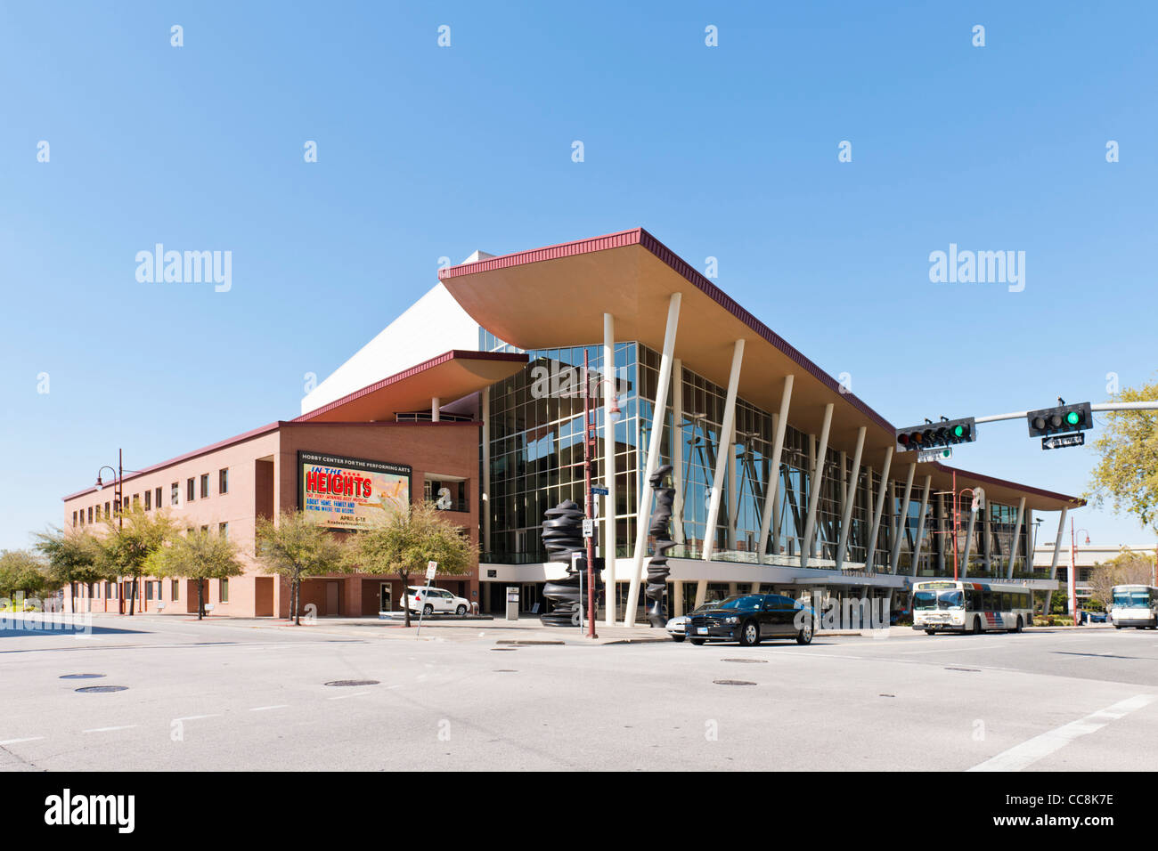 Hobby Performing Arts Center, Houston, Texas - Stock Image