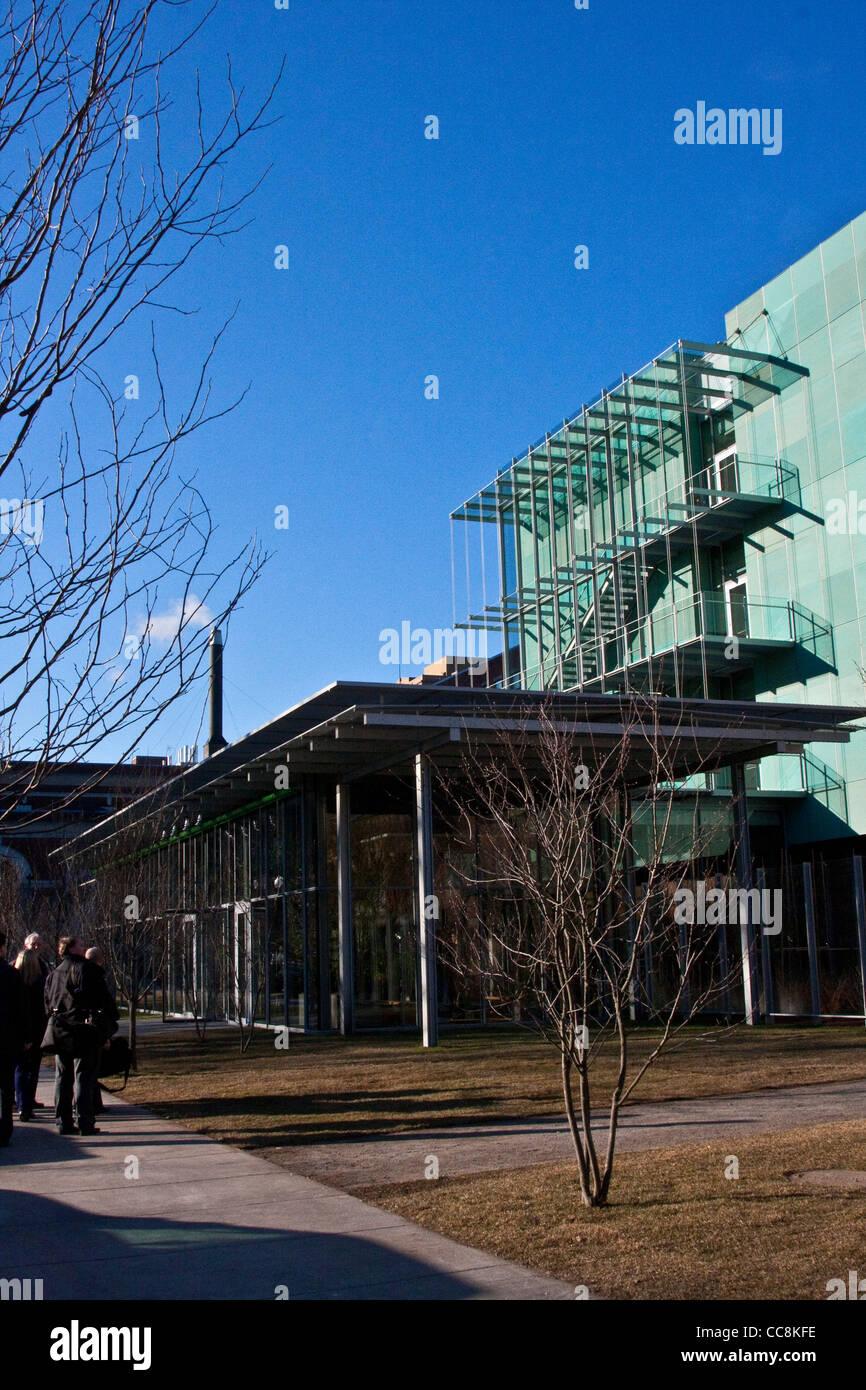 Boston Massachusetts, Isabella Stewart Gardner Museum, Boston Massachusetts, Renzo Piano addition, 2011, 2012, Stock Photo