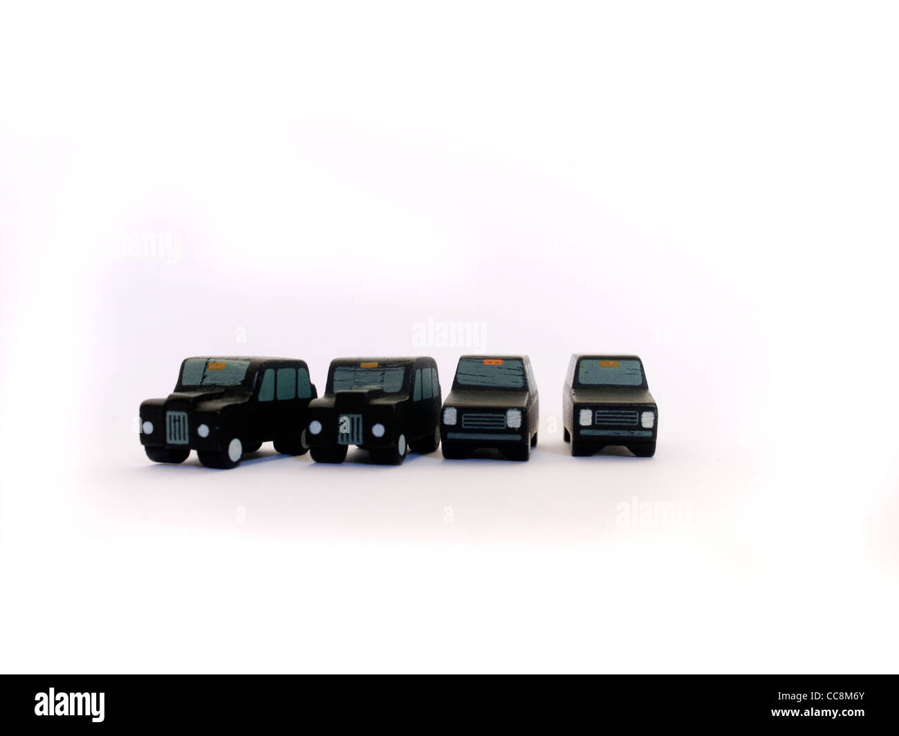 London taxis - Stock Image