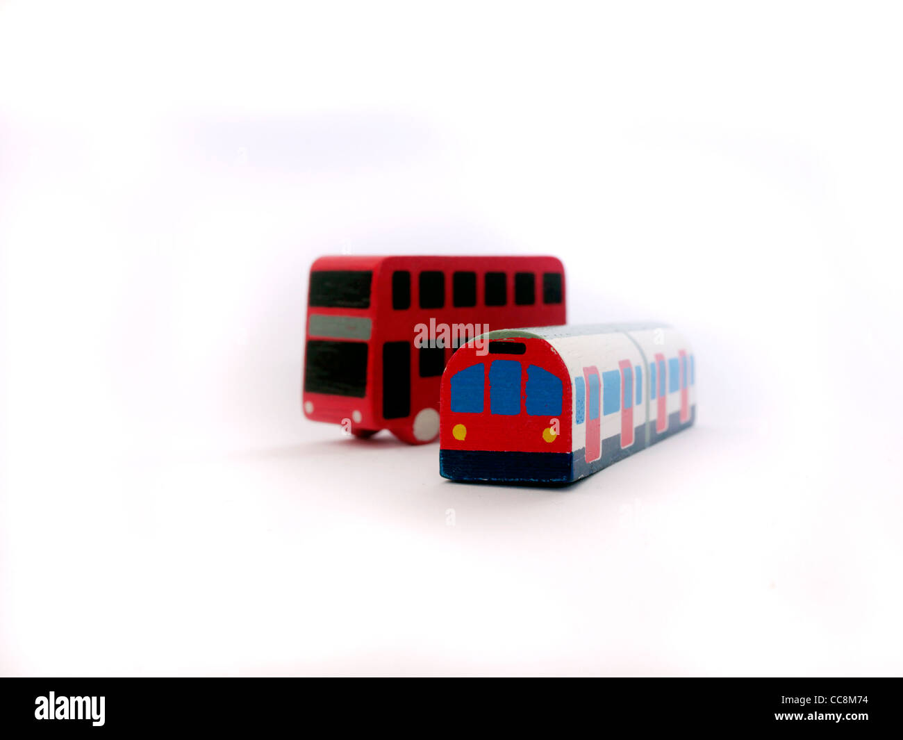 Public means of transportation - Stock Image