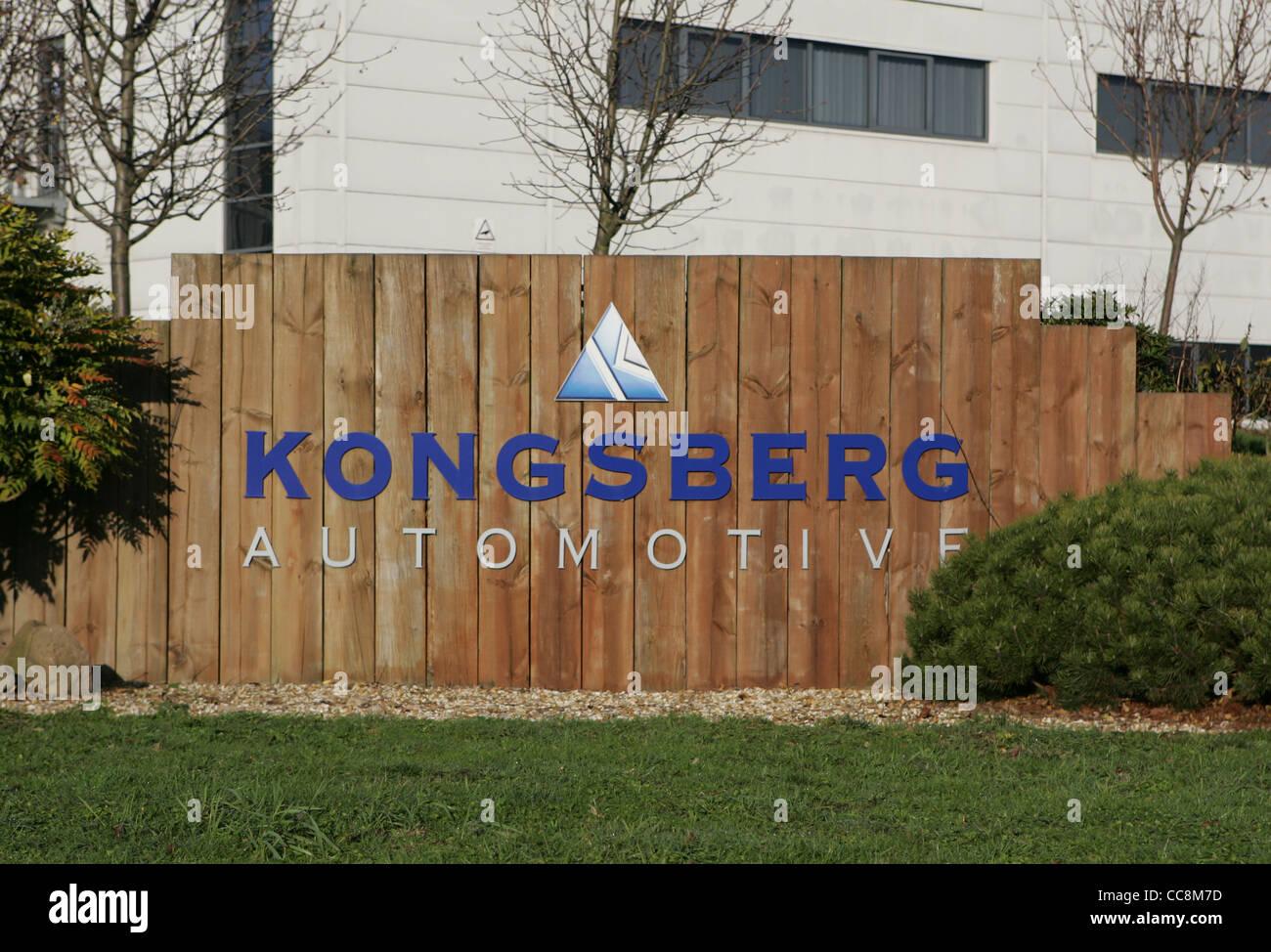 kongsberg automotive, burton on trent - Stock Image