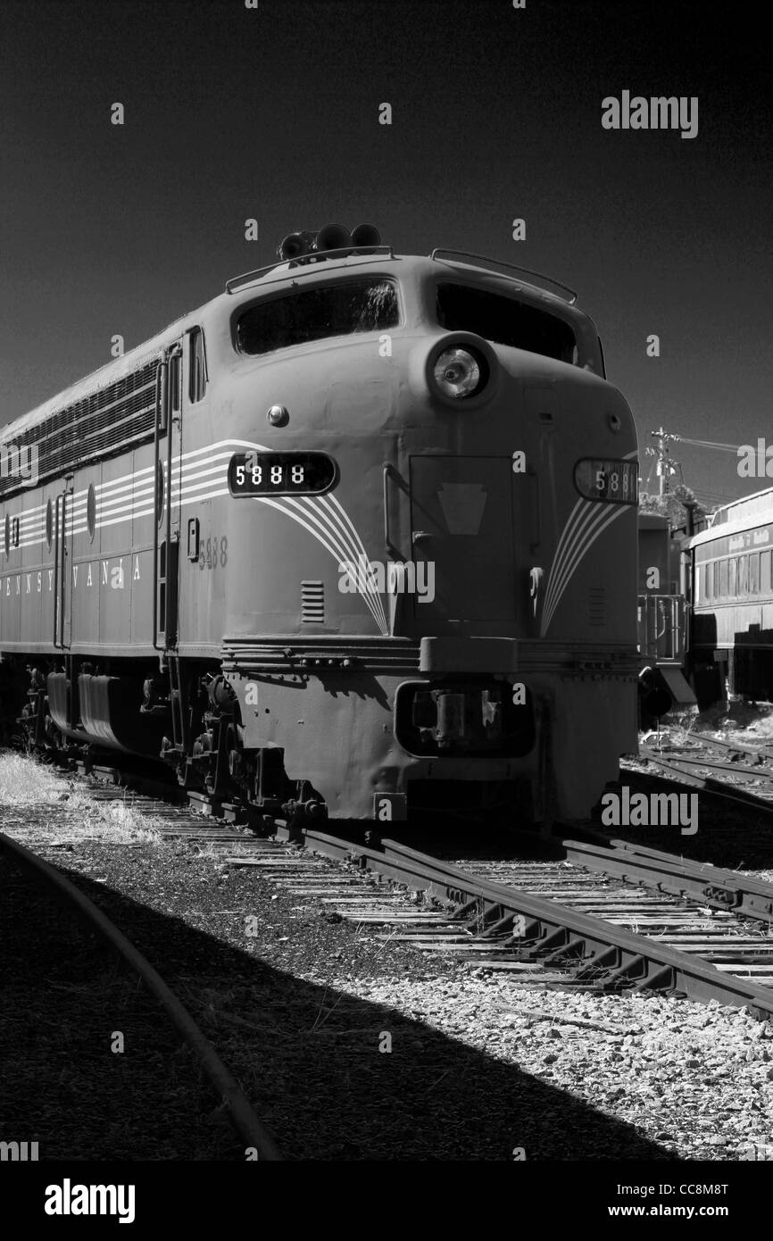 Pennsylvania Railroad locomotive 5888. Stock Photo