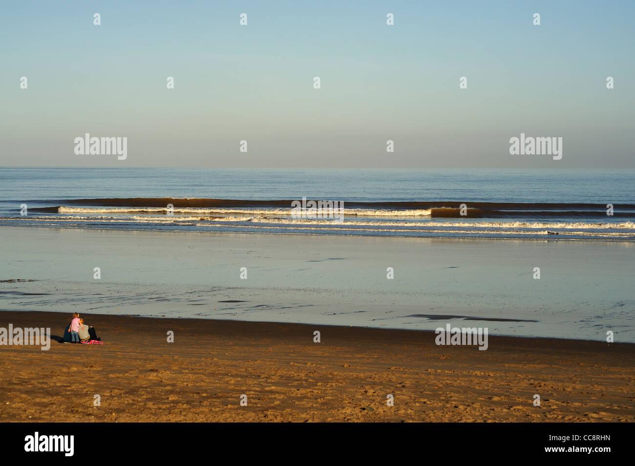 Sutton on Sea, Lincolnshire - Stock Image