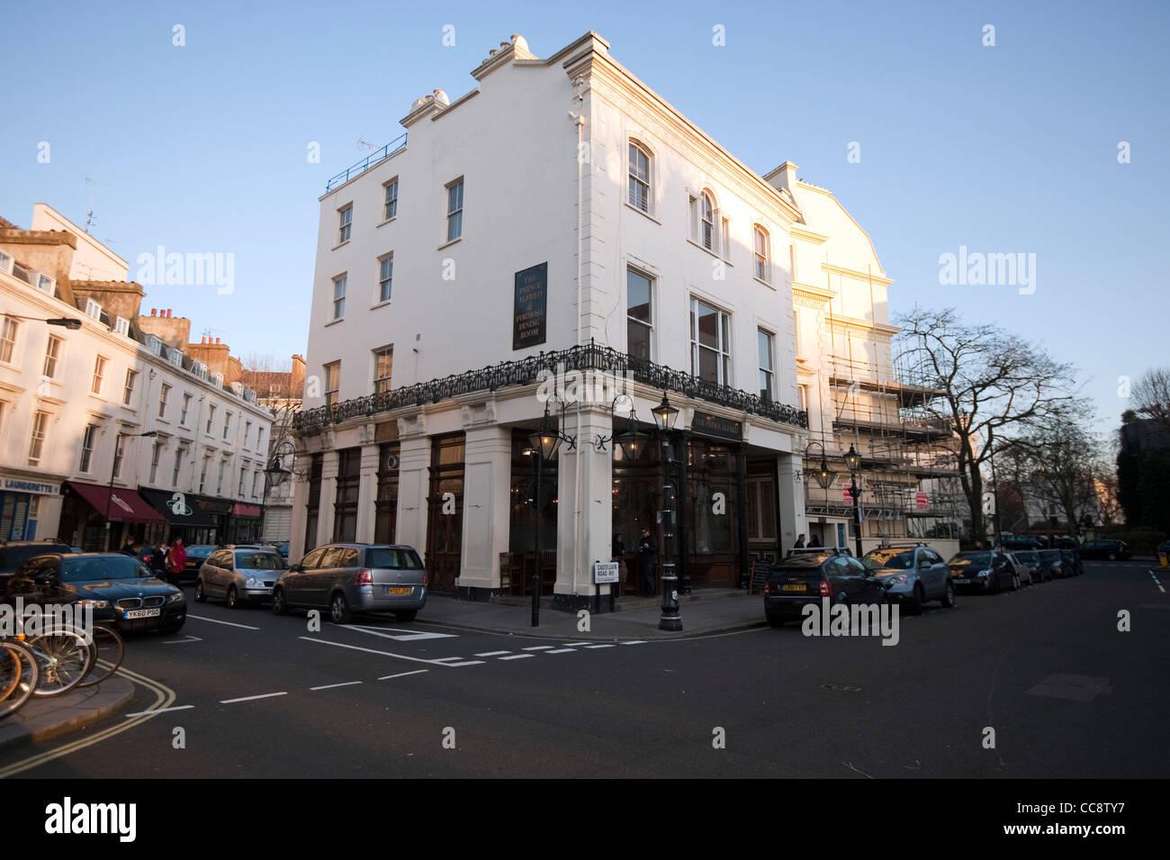 Prince Alfred pub Maida Vale Scene of Scandal film Profumo affair - Stock Image