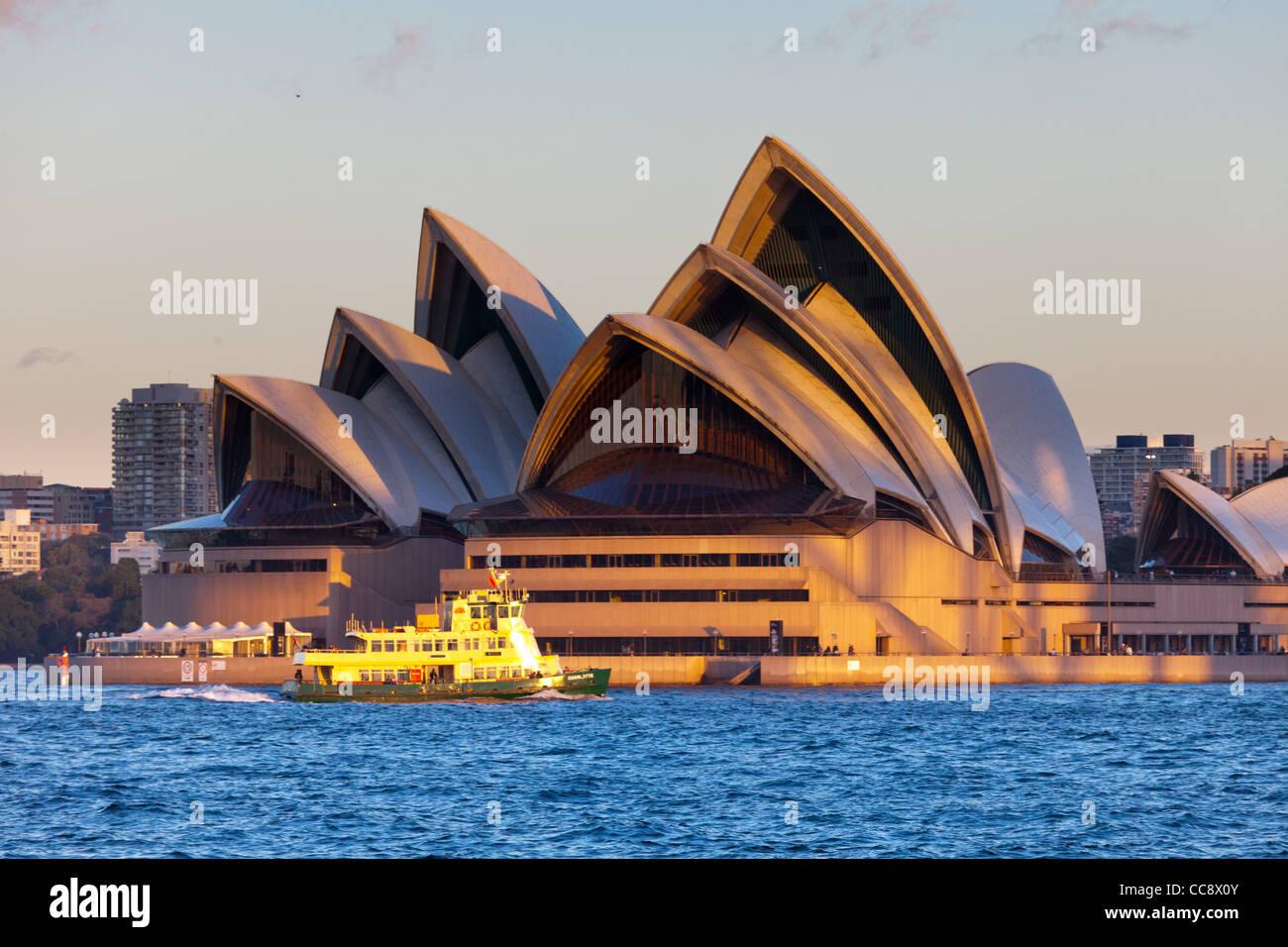 Sydney Opera House from Kirribilli - Stock Image
