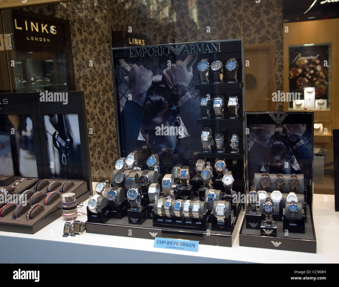 a96b92658e9 Shop Window Display Watches Stock Photos   Shop Window Display ...