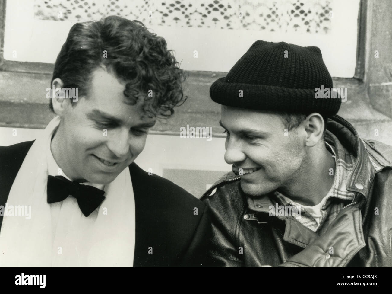 PET SHOP BOYS  UK pop duo in 1988 film It Couldn't Happen Here with Neil Tennant at left and Chris Lowe - Stock Image