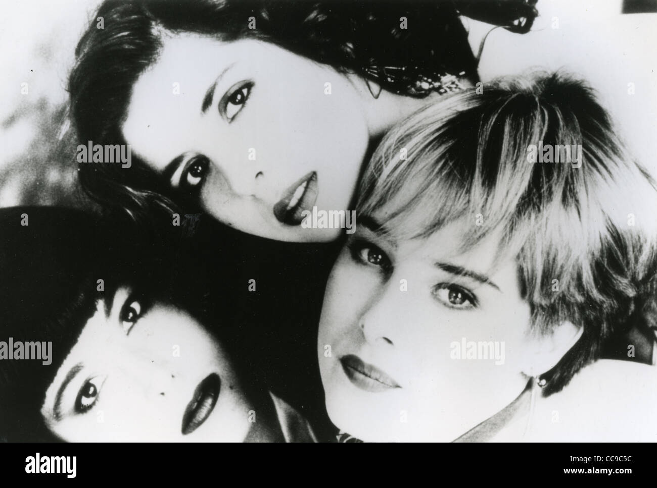 WILSON PHILLIPS Promo photo of US group in 1990. Clockwise from l: Carnie Wilson, Wendy Wilson, Chynna Phillips. - Stock Image
