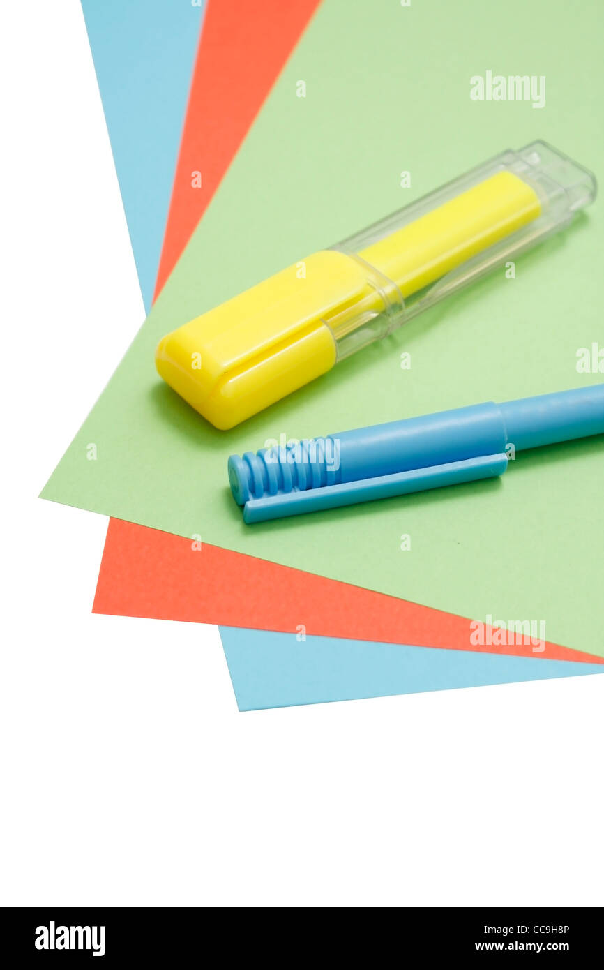 Creative supplies - Stock Image