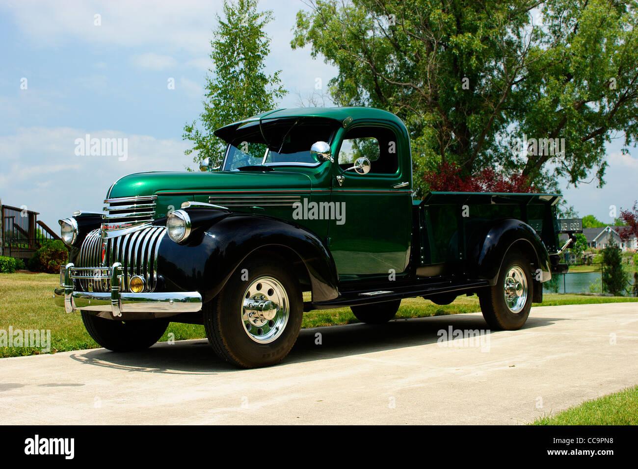 1946 Chevrolet 3/4 ton Pickup truck Stock Photo: 42012020