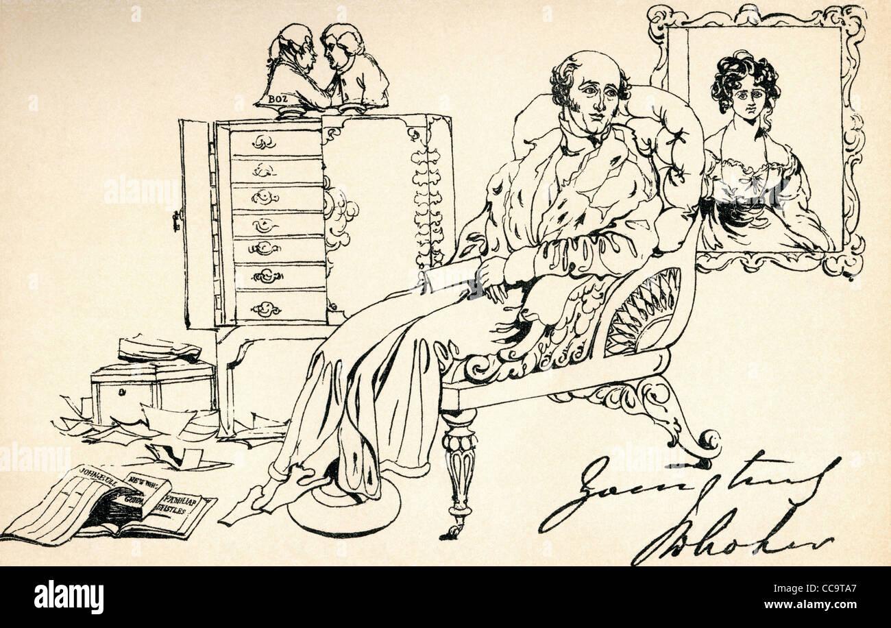 John Wilson Croker, 1780 – 1857. Irish statesman and author. - Stock Image