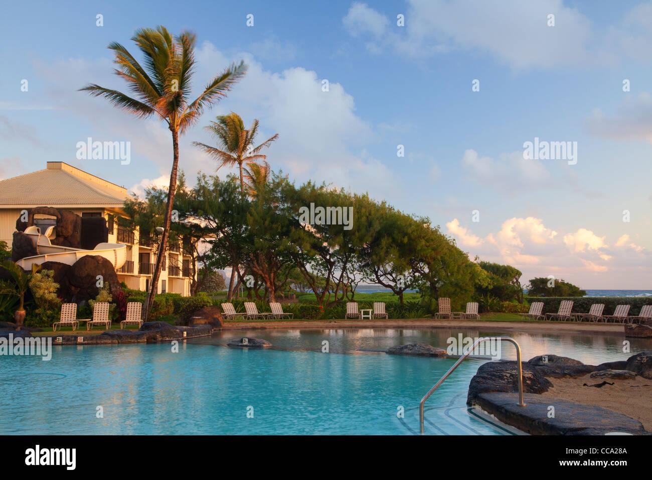 Kauai Beach Resort Stock Photos & Kauai Beach Resort Stock Images ...