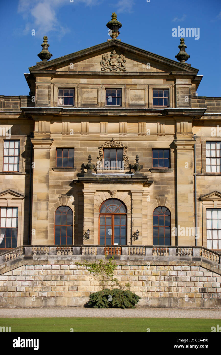 Duncombe Park, seat of Baron Feversham, by William Wakefield and Charles Barry to a design by John Vanbrugh, Helmsley - Stock Image