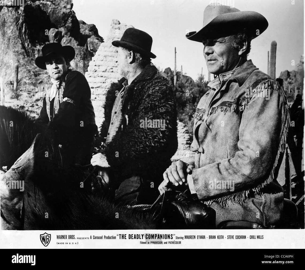 THE DEADLY COMPANIONS (1961) BRIAN KEITH, STEVE COCHRAN, CHILL WILLS SAM PECKINPAH (DIR) 001 MOVIESTORE COLLECTION - Stock Image