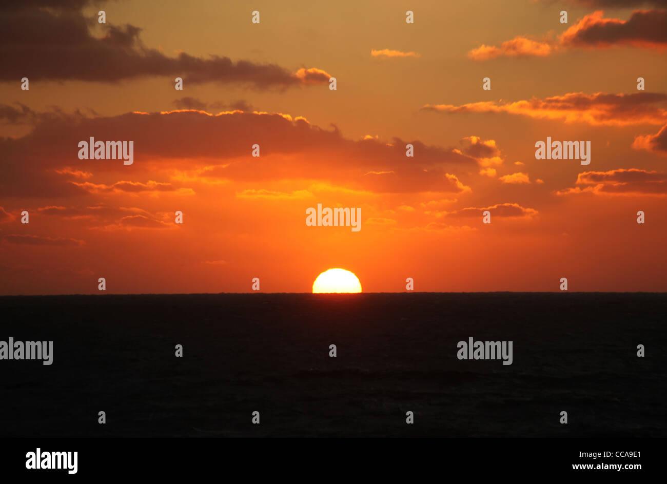 Dawlish Sunrise - Stock Image