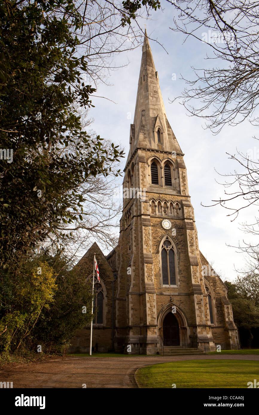 St. Anne's Church, Highgate, London, England - Stock Image