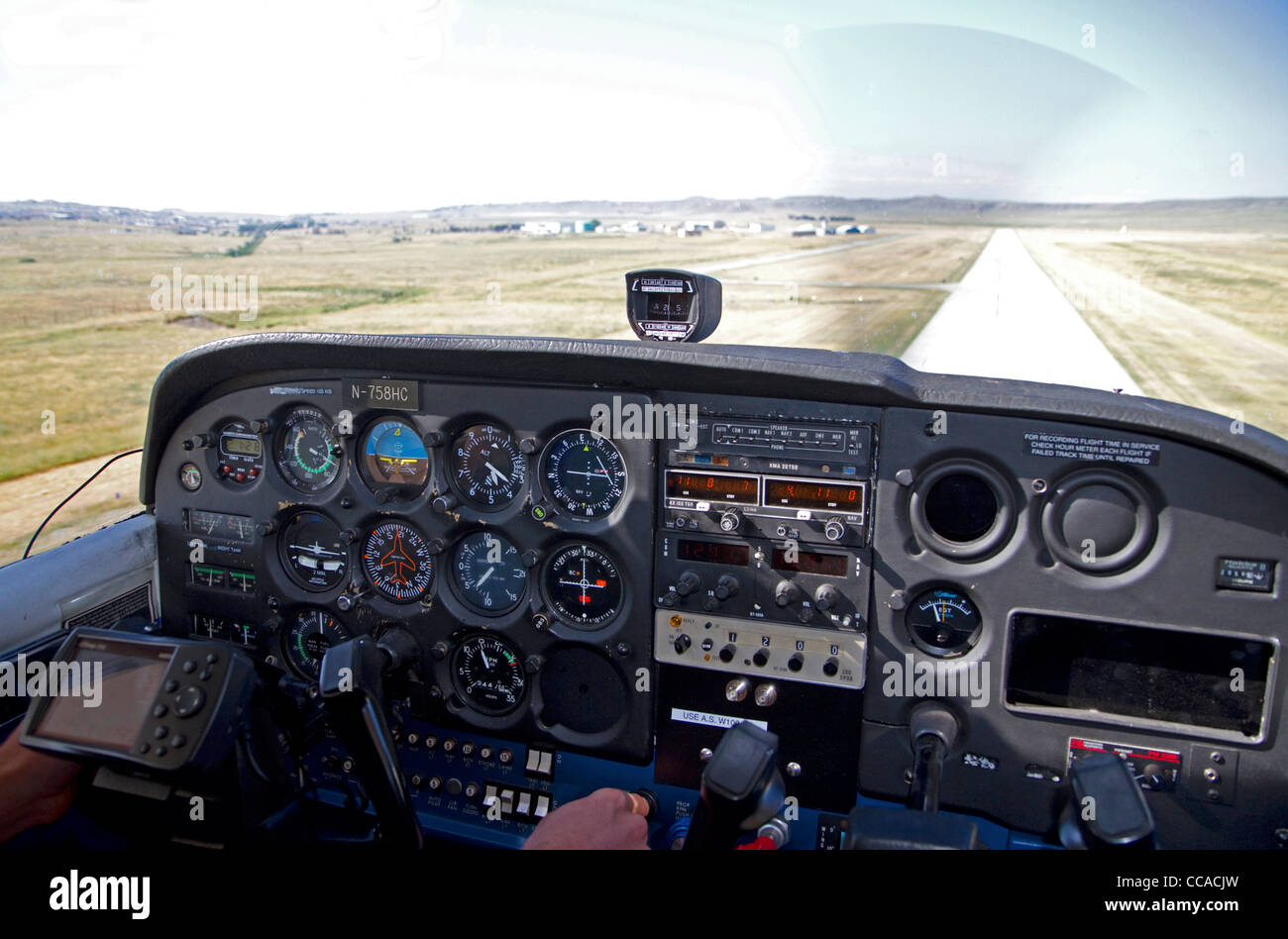 Cessna 172 Cockpit Stock Photos & Cessna 172 Cockpit Stock