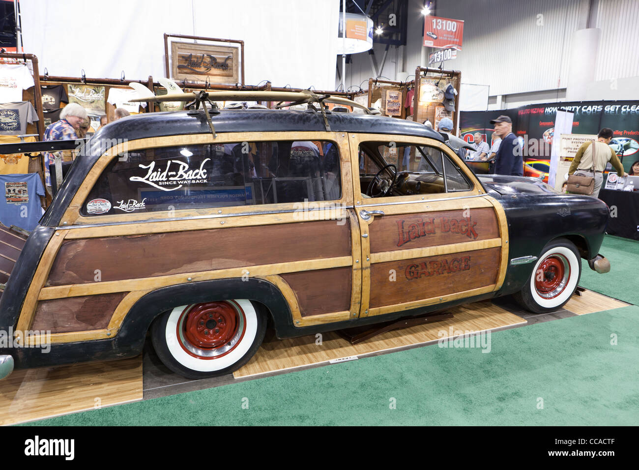 1951 Ford Woody - USA - Stock Image