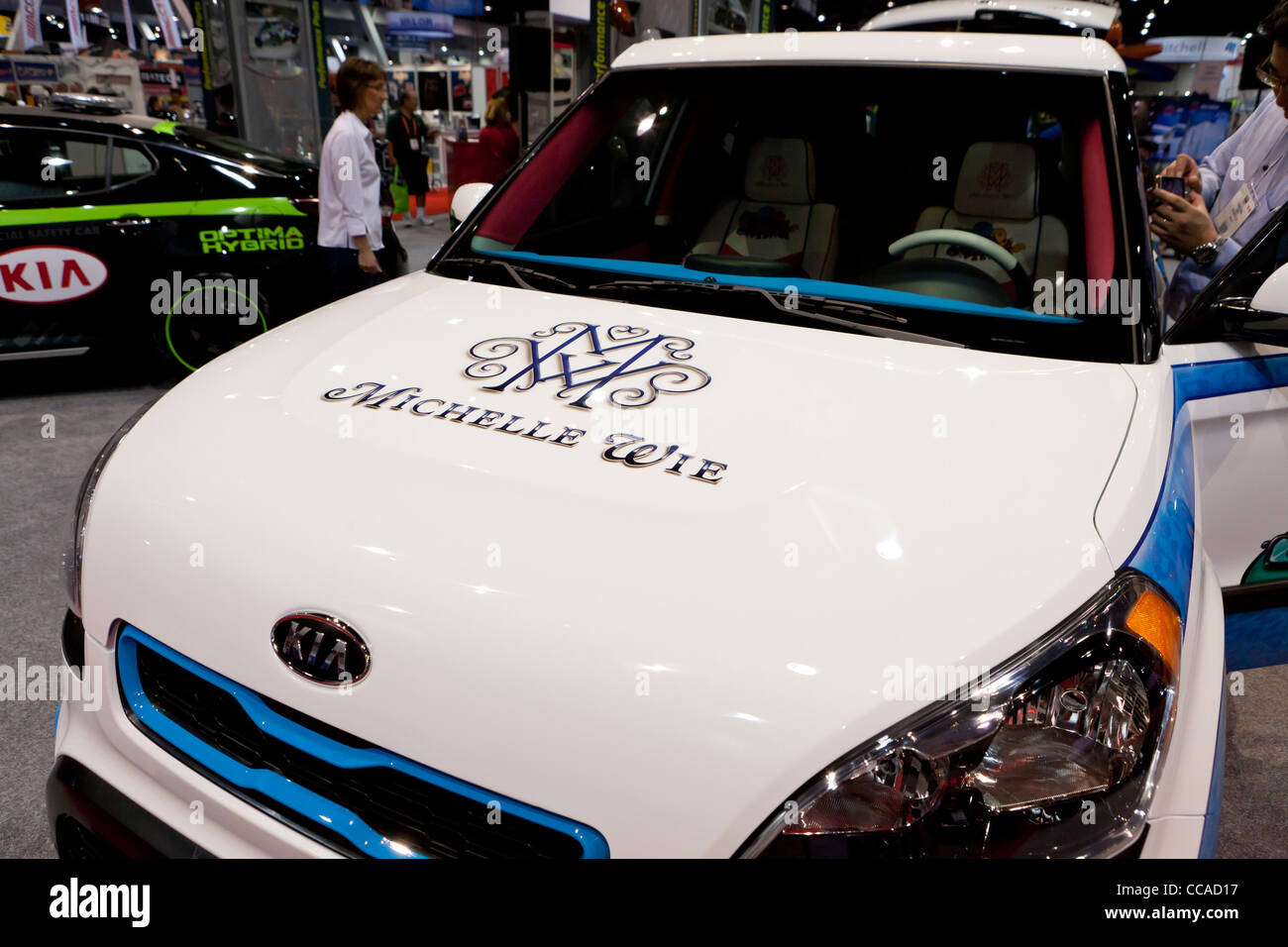 """""""Hole in One"""" Kia Soul - Kia Concept car inspired by Michelle Wie - Stock Image"""
