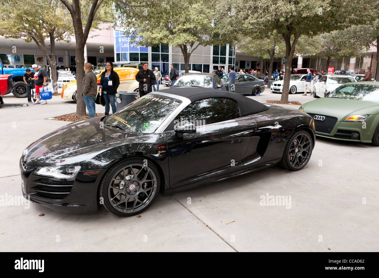 Audi R8 sports car - Stock Image