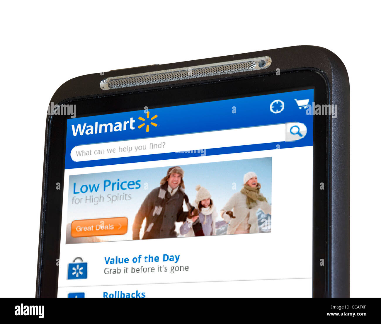 Walmart Stock Phone Number >> Shopping Online At Walmart With An Htc Smartphone Stock