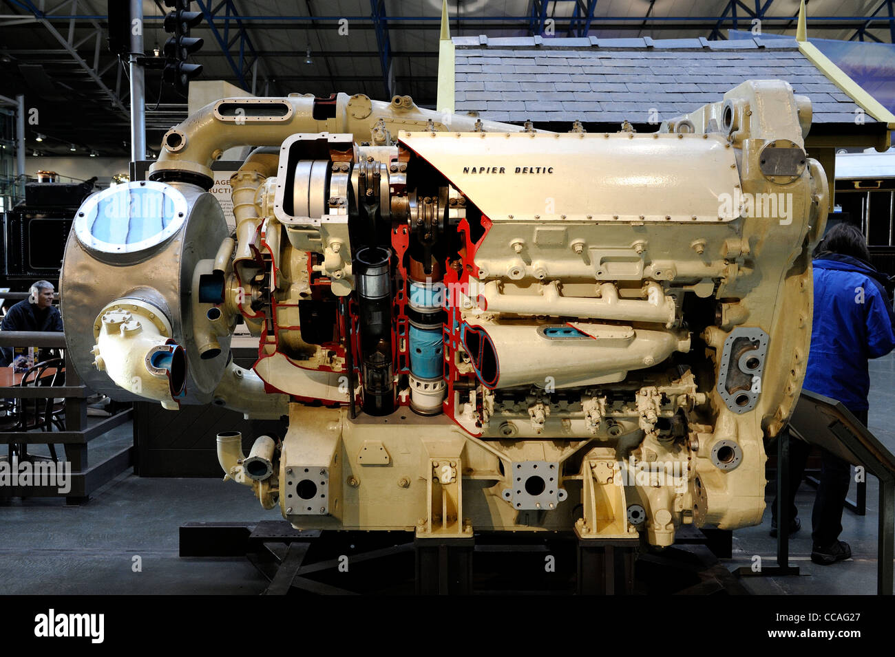 napier deltic diesel marine engine D18-25B also used in ...