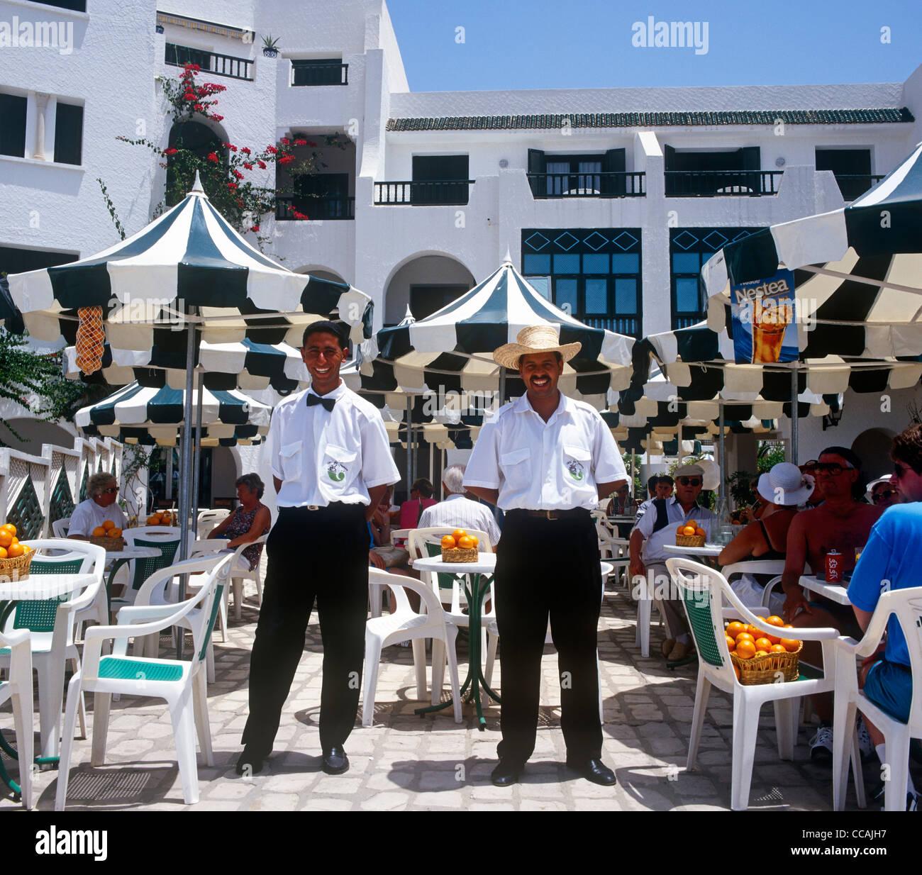 Traditional Restaurant Sousse Tunisia Stock Photo