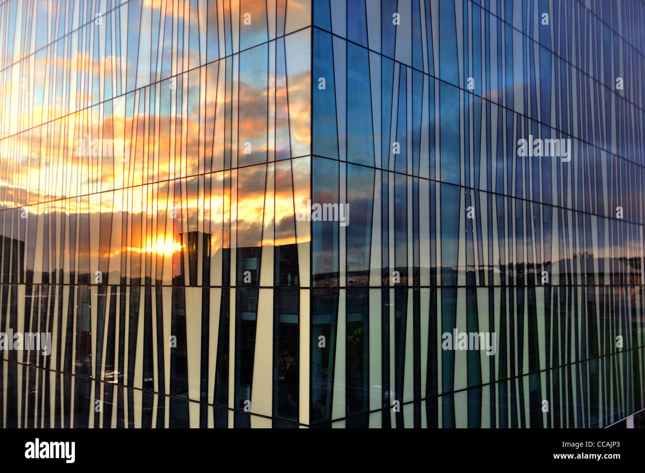 The New Library, University of Aberdeen - Stock Image