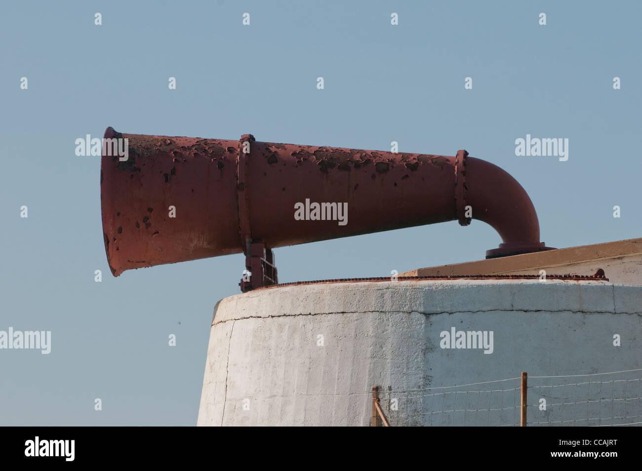 Fog Horn - Stock Image