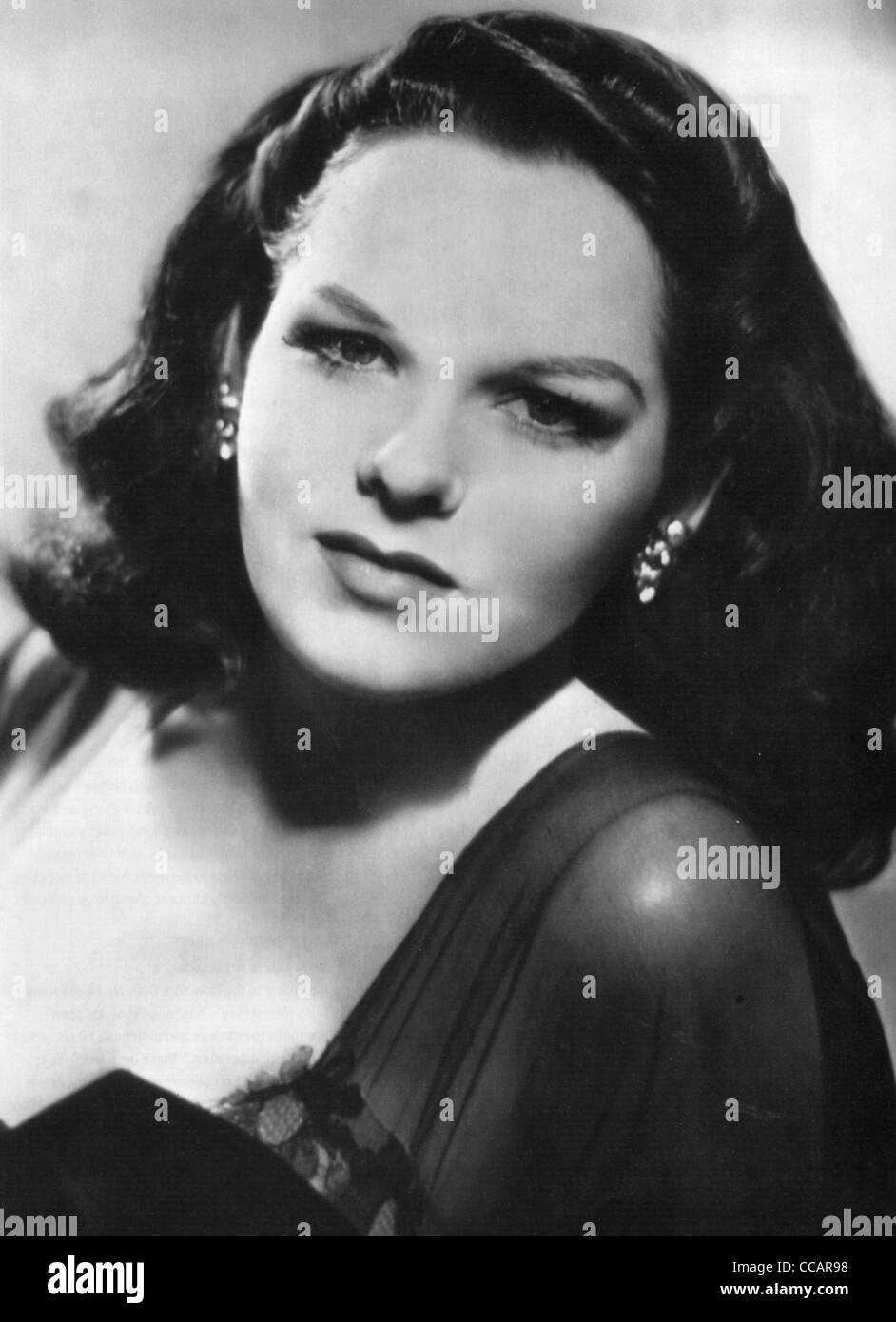 VIRGINIA HILL (1916-1966) girlfriend of US mobster Bugsy Siegel - Stock Image