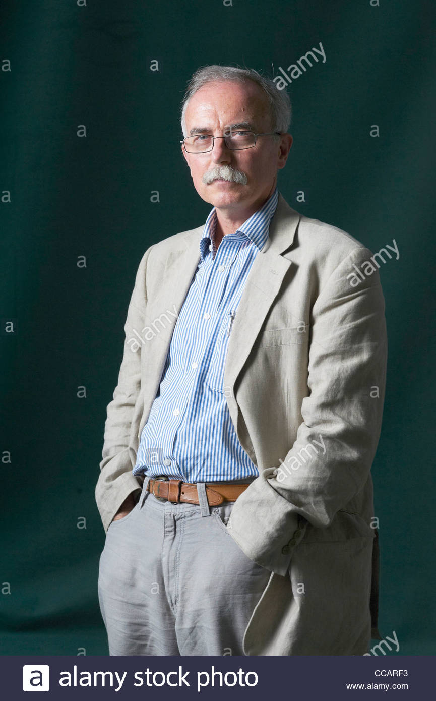 Gregory Claeys writer at The Edinburgh International Book Festival 2011. - Stock Image