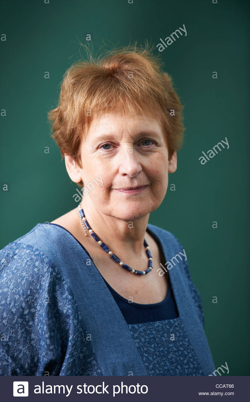 Wendy Cope,Poet at The Edinburgh International Book Festival 2011. - Stock Image