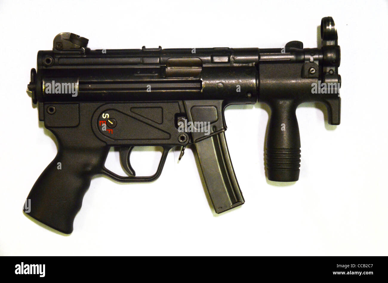 german heckler and koch m5k 9mm current submachine gun automatic