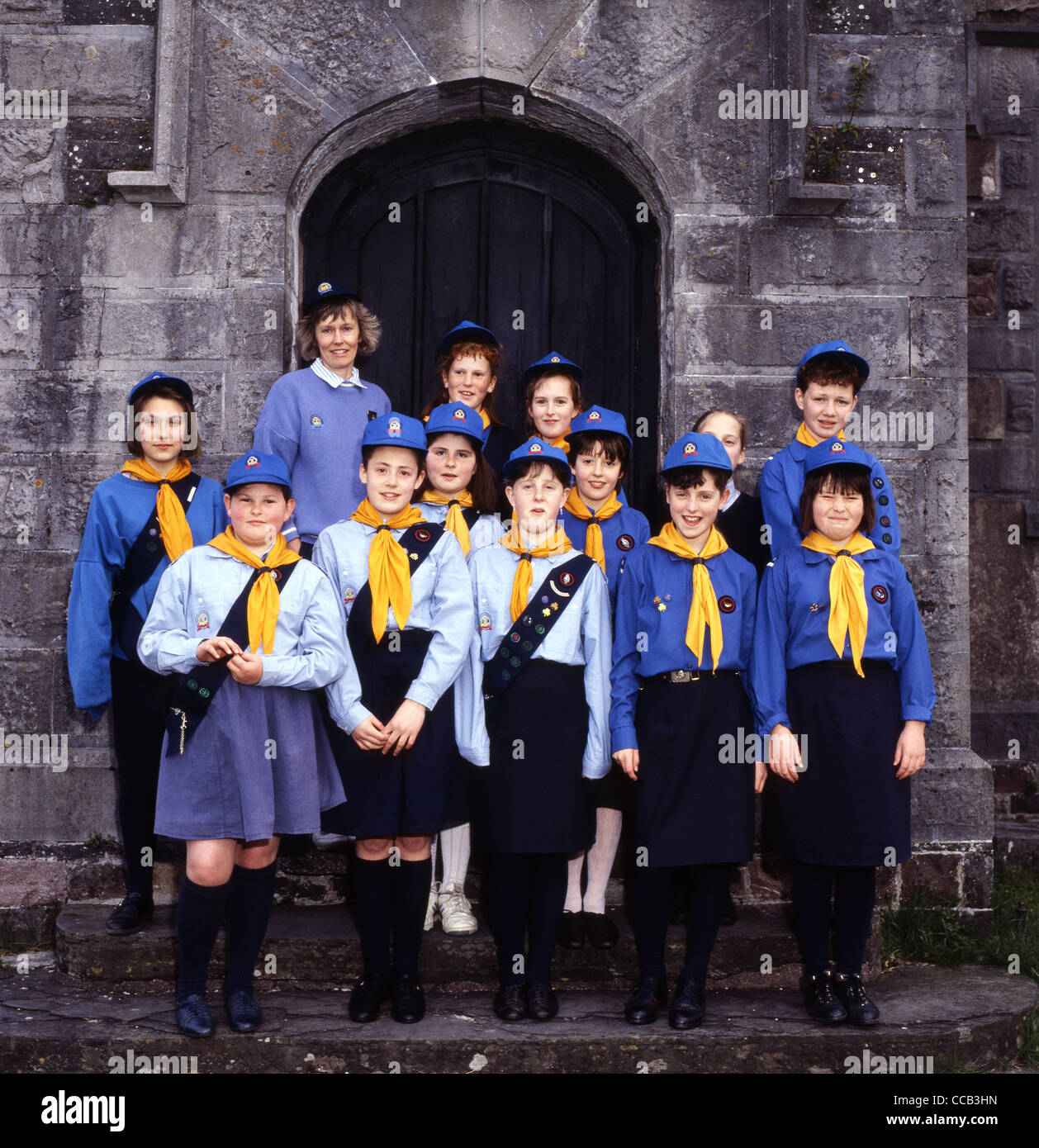 Girl guides get 'fresh' new uniform bbc news.
