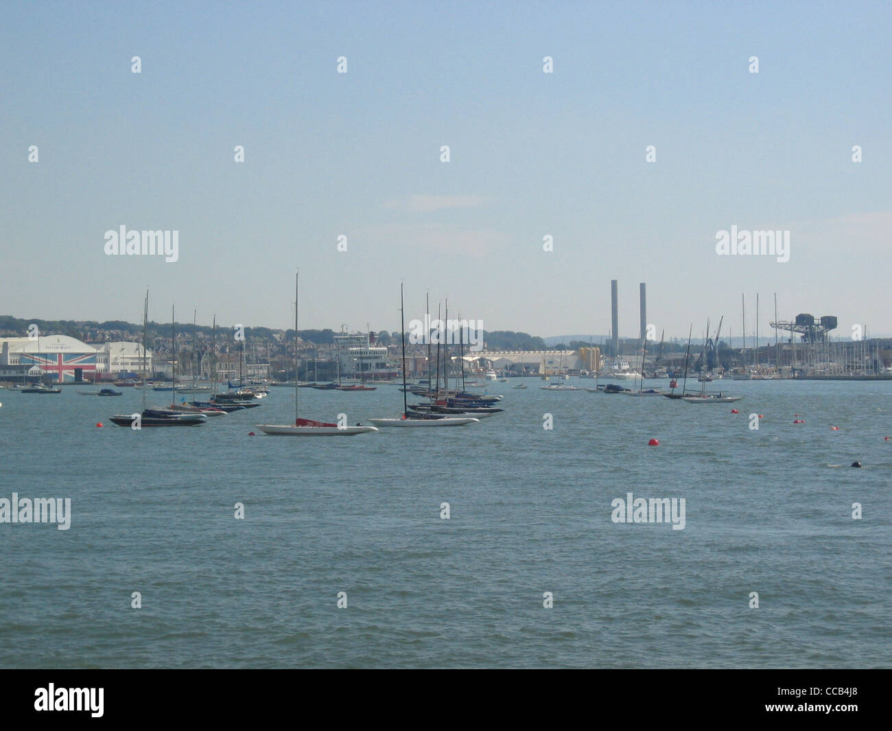 River Medina on the Isle of Wight - Stock Image