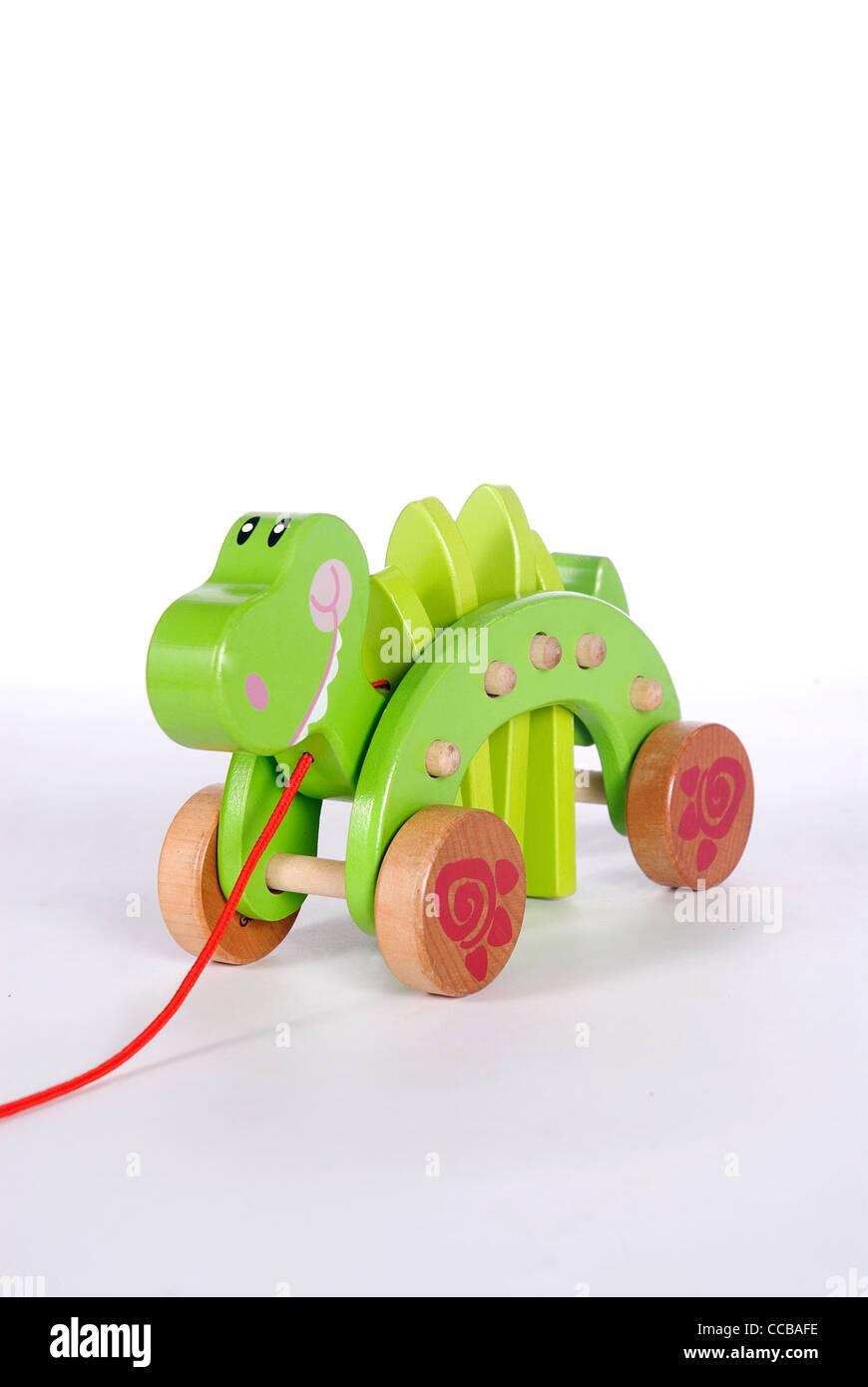 Dino toys - Stock Image