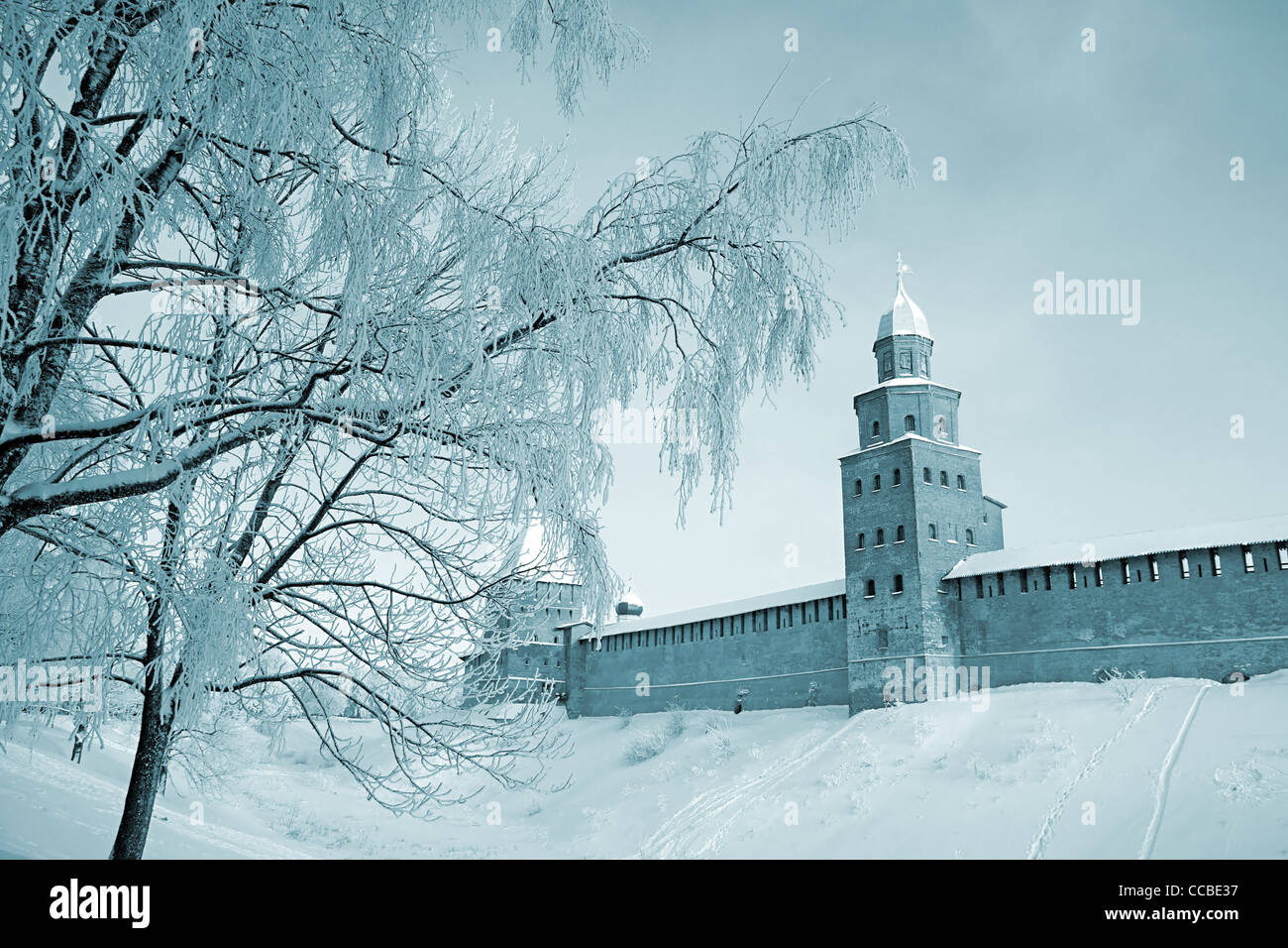 old-time fortress - Stock Image