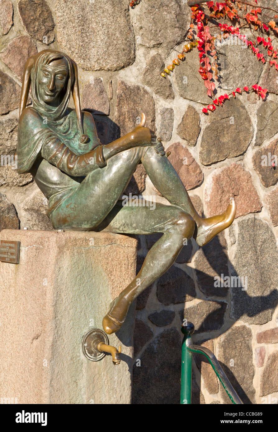 Till Eulenspiegel in Mölln, Germany - Stock Image