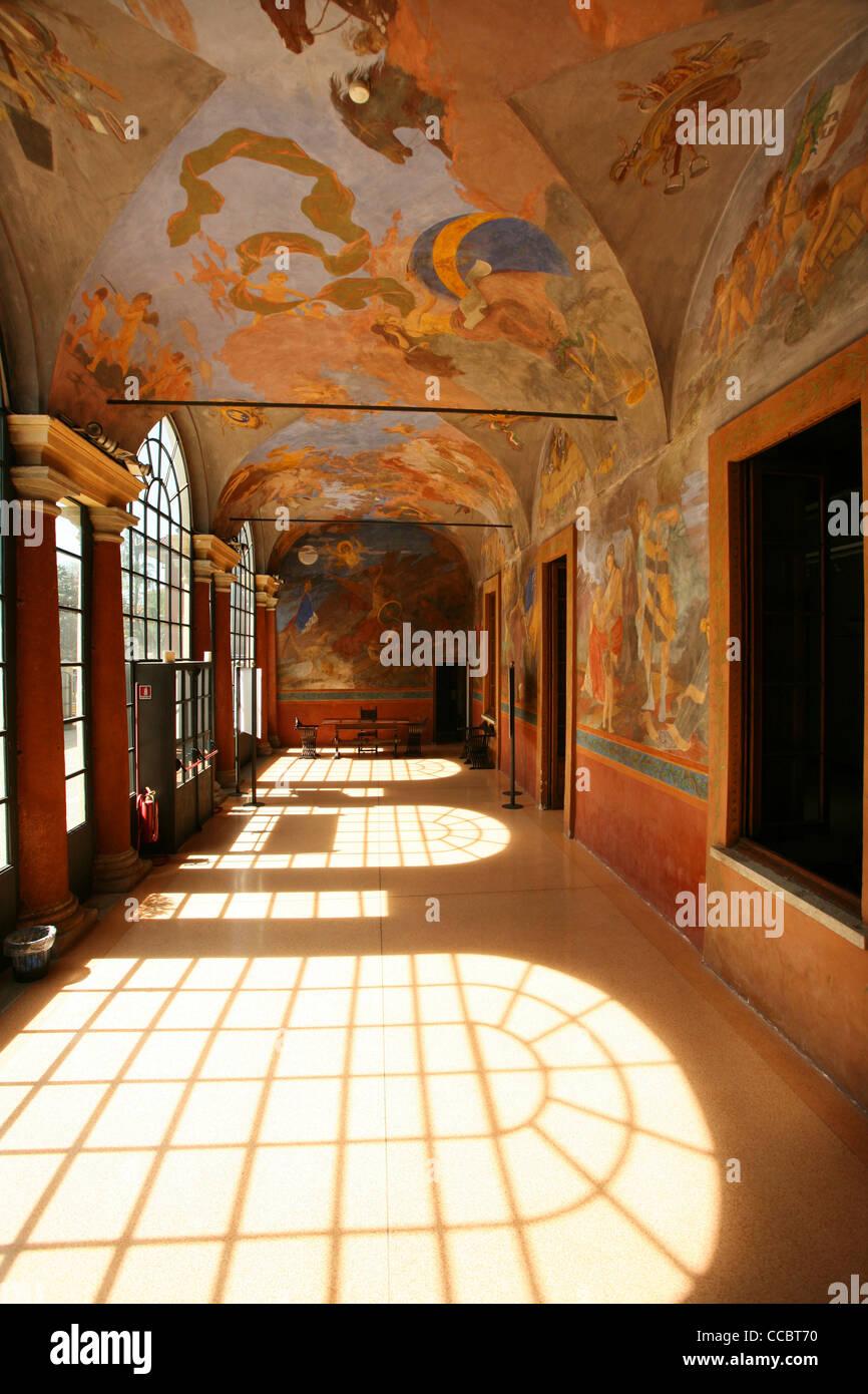 Casa Giacobbe, Magenta, 150 Unità Italia, Lombardy, Italy, Europe - Stock Image