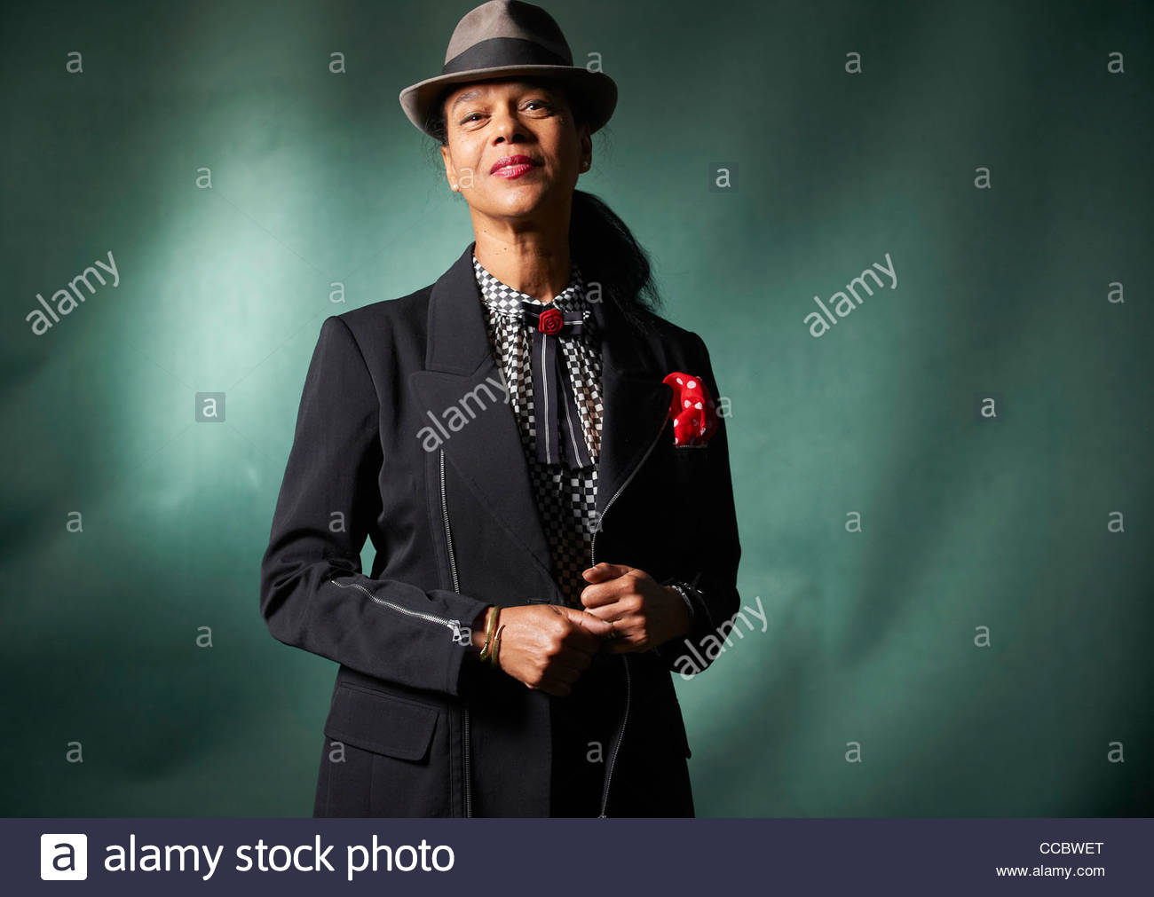 Pauline Black, at The Edinburgh International Book Festival 2011 Stock Photo