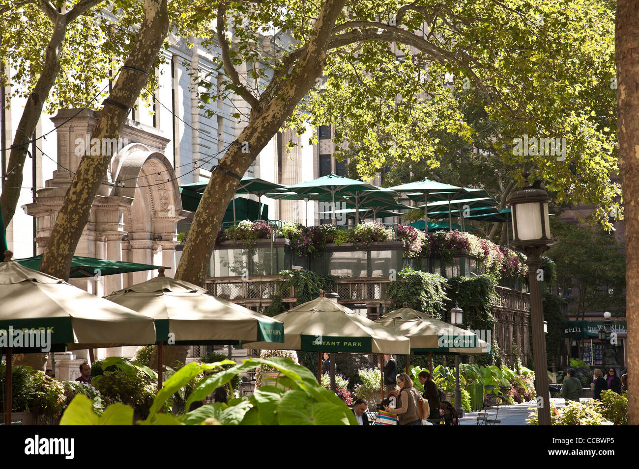Bryant Park Grill And Bryant Park Cafe Restaurants Bryant