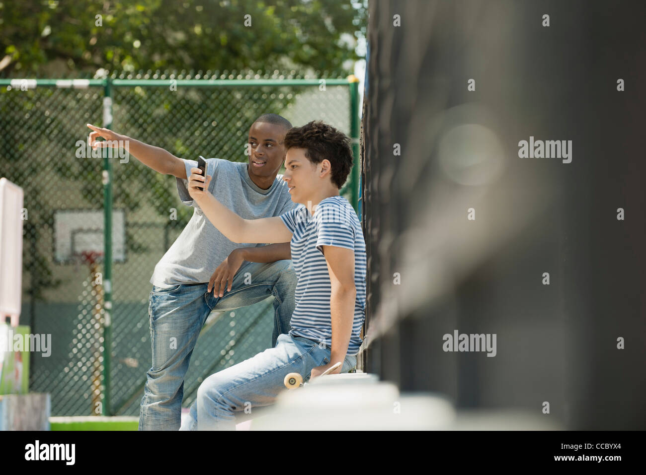 Young men - Stock Image