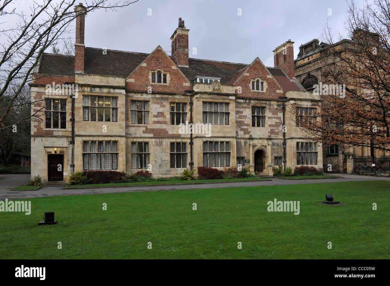 The King's Manor, York-1 - Stock Image