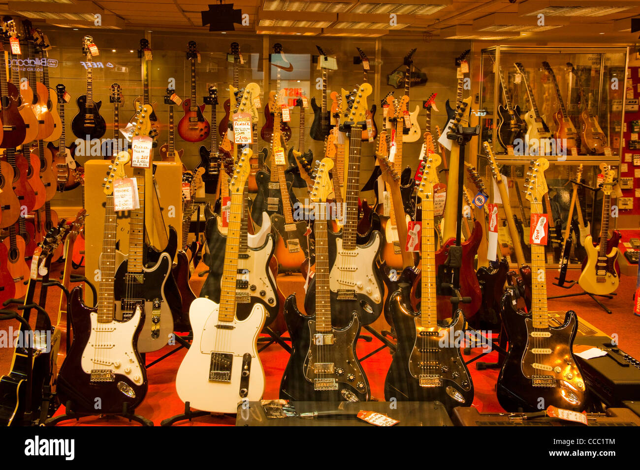 window of a shop in tel aviv selling musical instruments mainly stock photo 42061508 alamy. Black Bedroom Furniture Sets. Home Design Ideas