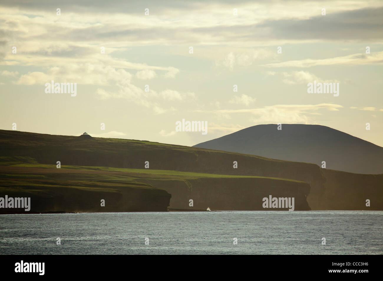 The Ceide Fields and North Mayo Seacliffs seem from Downpatrick Head, County Mayo, Ireland. - Stock Image