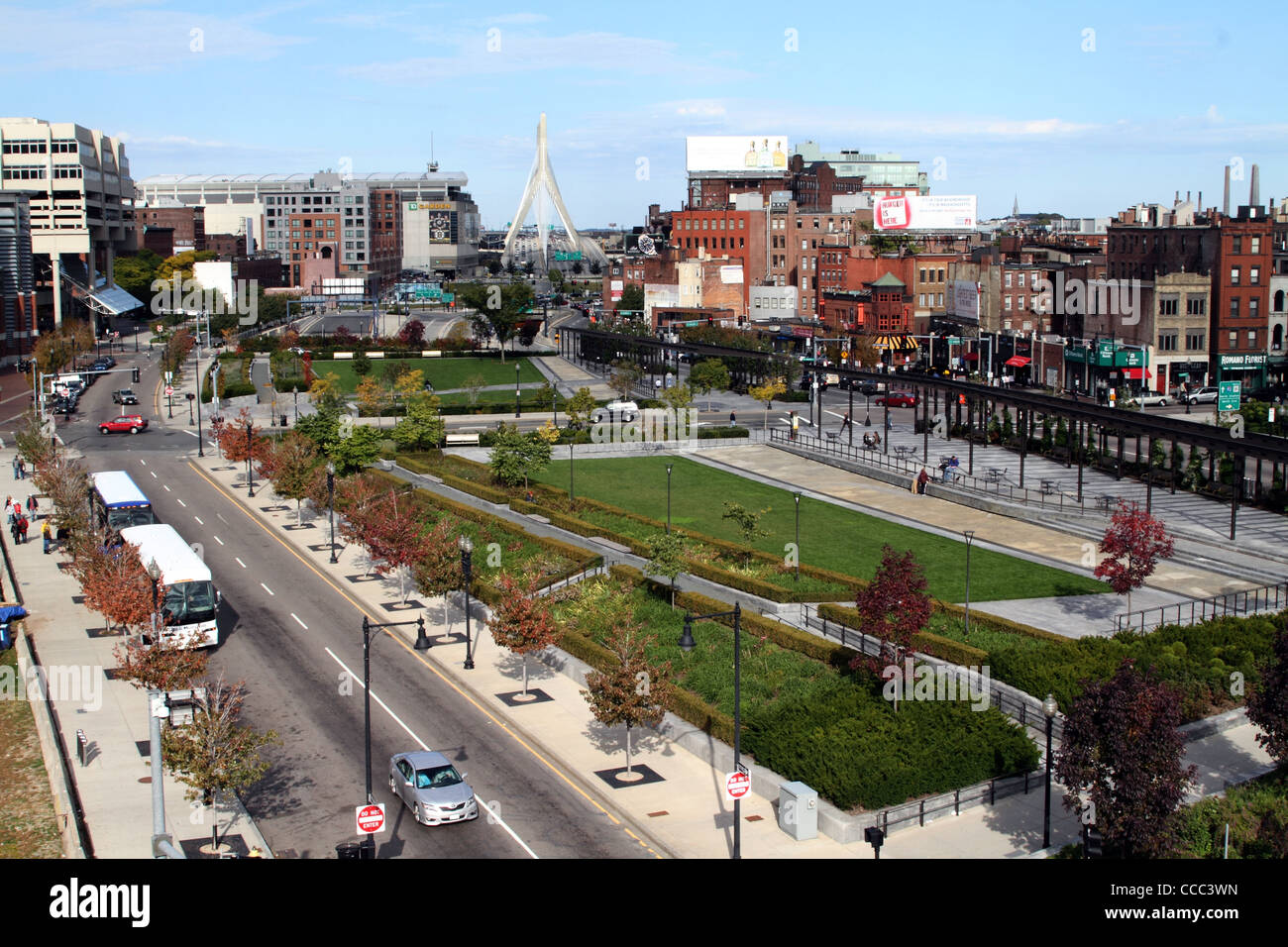 Rose Fitzgerald Kennedy Greenway Is A Greenery Filled Landscape