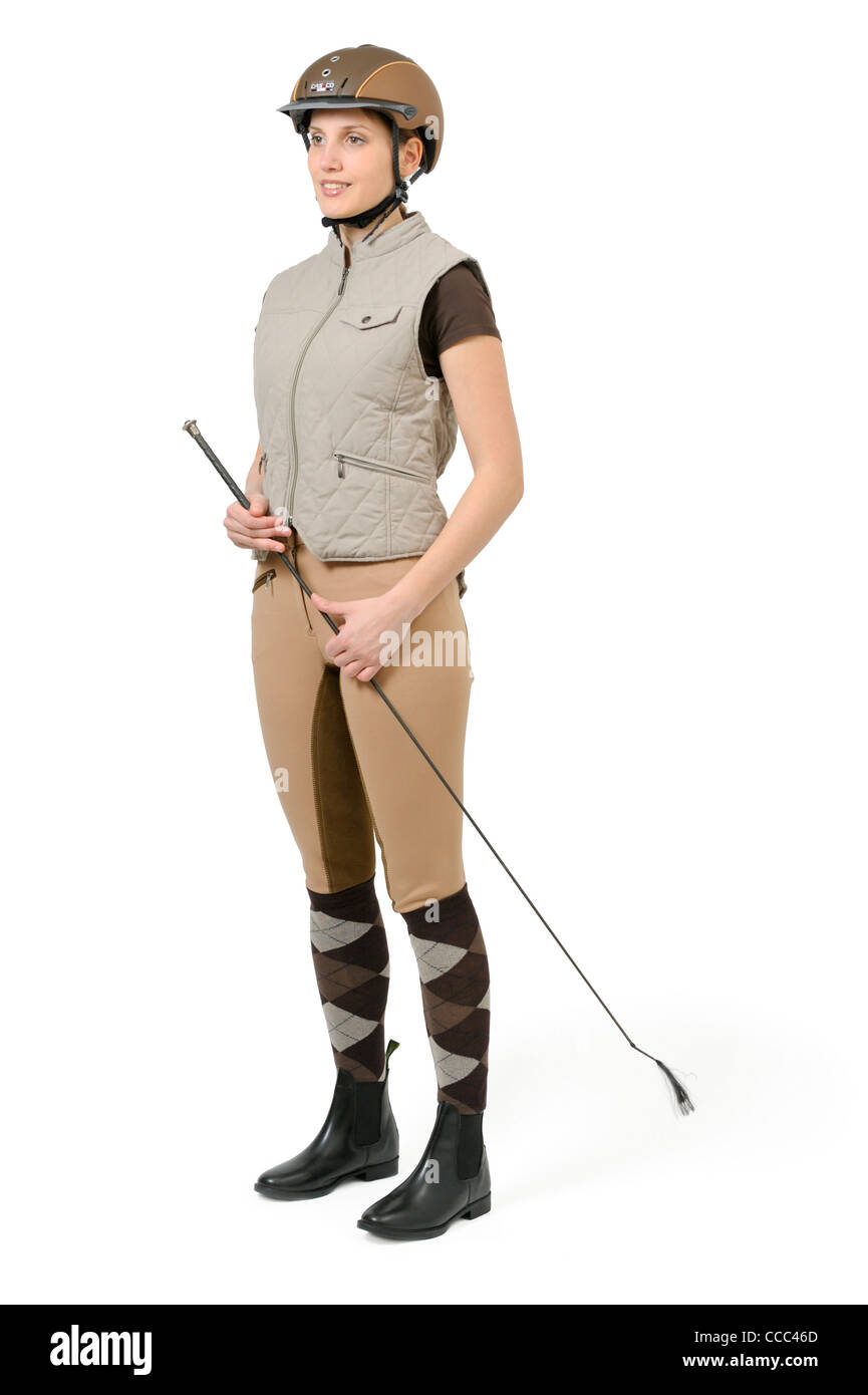 Opinion Young teen in jodhpurs