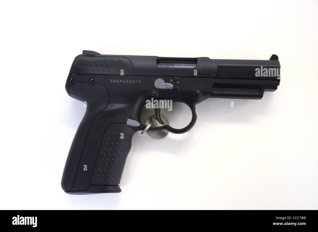 FN FIVE SEVEN TACTICAL PISTOL 1995 - Stock Image