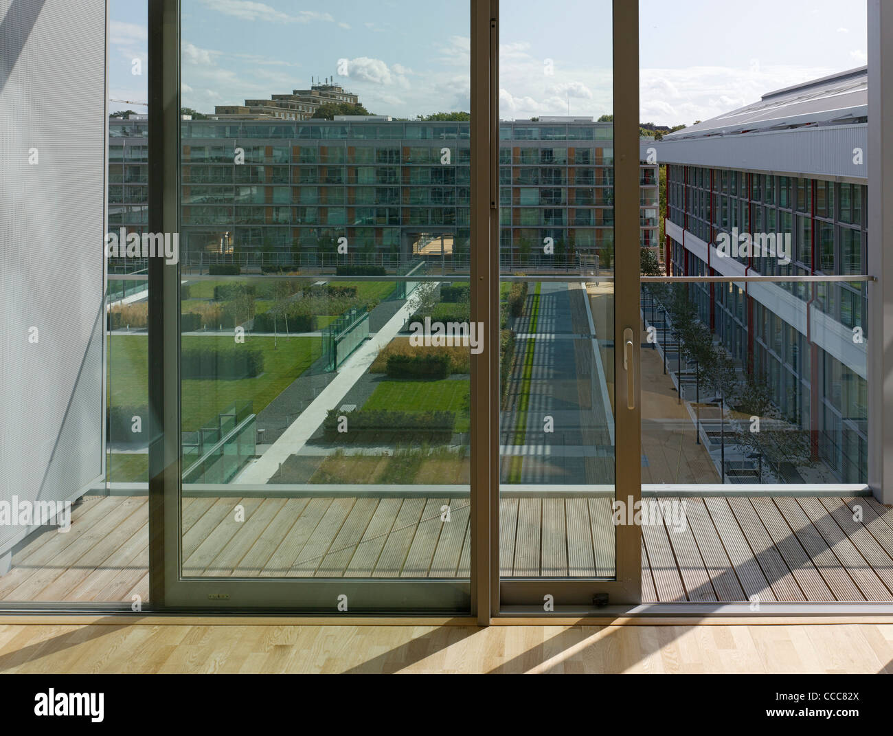 Highbury Square Arsenal Stadium Residential Flats London Allies And Stock Photo Alamy